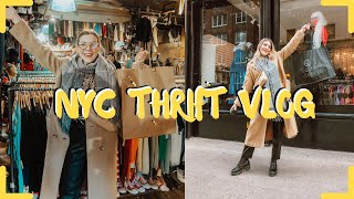 COME THRIFT W ME NYC || NYC THRIFT VLOG || 4 DAYS OF THRIFTING NYC || BEST THRIFTING IN NYC