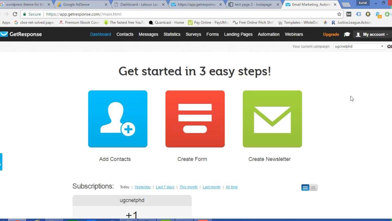 how to integrate your instapage lead generation page withhow to integrate your instapage lead generation page with getresponse in wordpress 2017