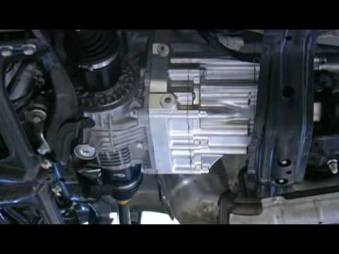 Installation of Paddle Shift hydraulics for Sequential Gearbox Subaru