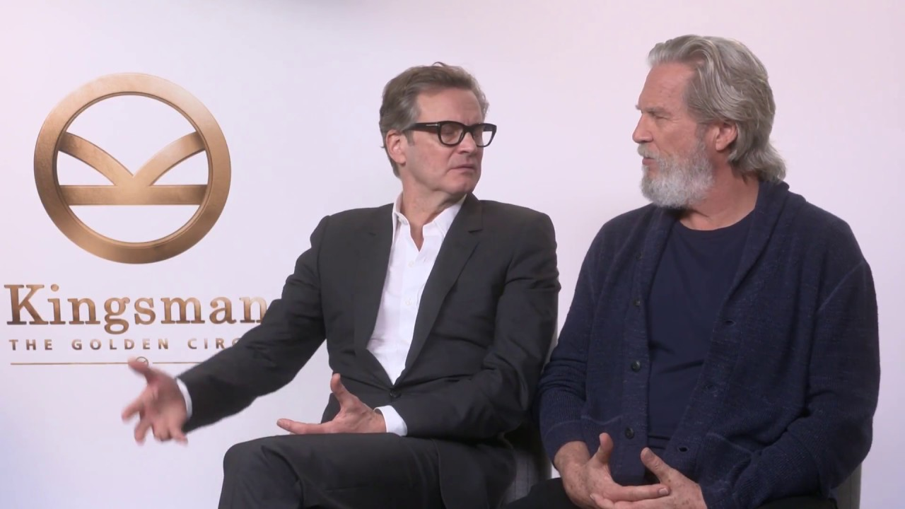 Jeff Bridges talks Tron and Colin Firth talks Harry Hart's resurrection!