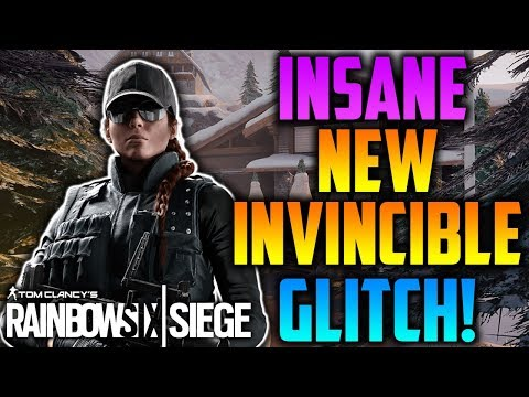 INSANE NEW *OP* INVINCIBLE GLITCH ON CHALET! *AFTER PATCH* (TUTORIAL) - Rainbow Six SIege