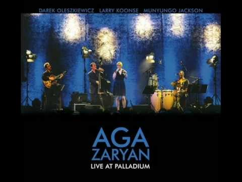 Aga Zaryan - Throw it away (live at Palladium)