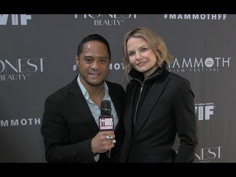 JENNIFER MORRISON w TYRONE TANN  Mammoth Film Festival  A Conversation wWomen in Film Panel