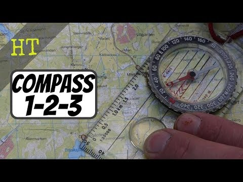 Learn Map & Compass In One Minute | Silva 1-2-3 System