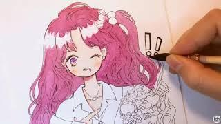 Tô màu tranh anime