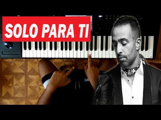 Como Tocar Solo Para Ti En Piano Fácil Camila Acordes Tutorial Youtube