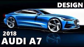 2018 Audi A7 DESIGN Explained