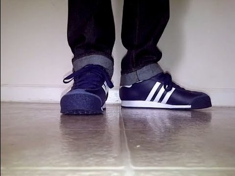 Adidas Samoa Original on feet - YouTube 168b5828c