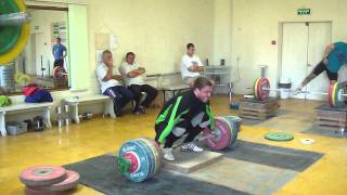 Клоков - Klokov рывок с возвышения 202 кг