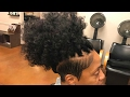 Shave Side & Crochet Braids After Microlink Extension Removal and Relaxed