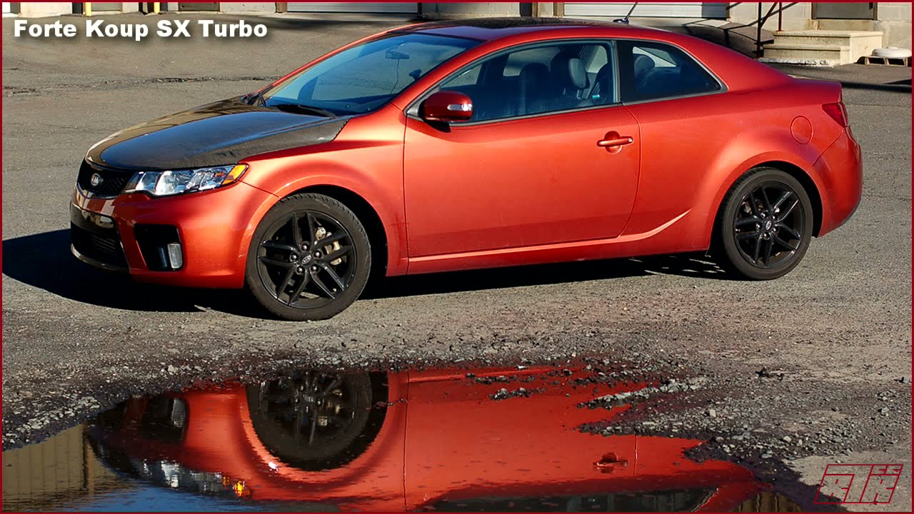 BTRcc Forte Koup Turbo   Road Test   YouTube