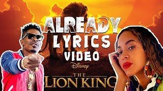Beyoncé, Shatta Wale, Major Lazer - ALREADY (Lyrics Video)