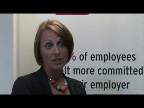 Give & Gain Day -- business benefits, Helen Ellis, Prudential UK & Europe