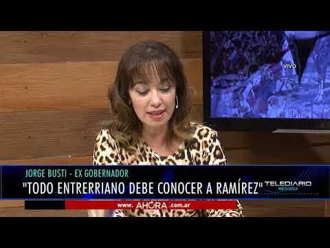 Jorge Busti impulsa la vida, obra y legado de Francisco Pancho Ramírez