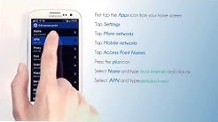 Lycamobile Switzerland - Mobile Web Settings for your Samsung