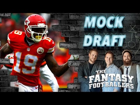 Early 2016 PPR Mock Draft Ep. #205 - The Fantasy Footballers