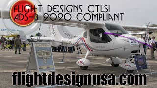 Flight Design USA Forges Ahead with CTLSi - ADS-B 2020 Compliant