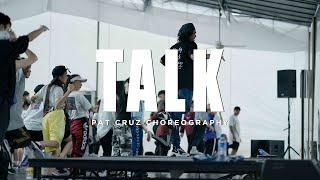 Khalid - Talk   Pat Cruz Choreography