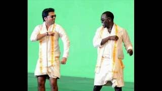 Akon and simbu love anthem video shooting spot