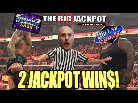 WOA! 2 BIG HITS! ⚡THUNDER CASH VS. DOLLAR STREAK 💵WHICH ONE WILL WIN?? | The Big Jackpot