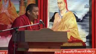 1st Gelug International Conference at Dharamsala