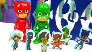 Герои в масках набор для детского творчества, распаковка