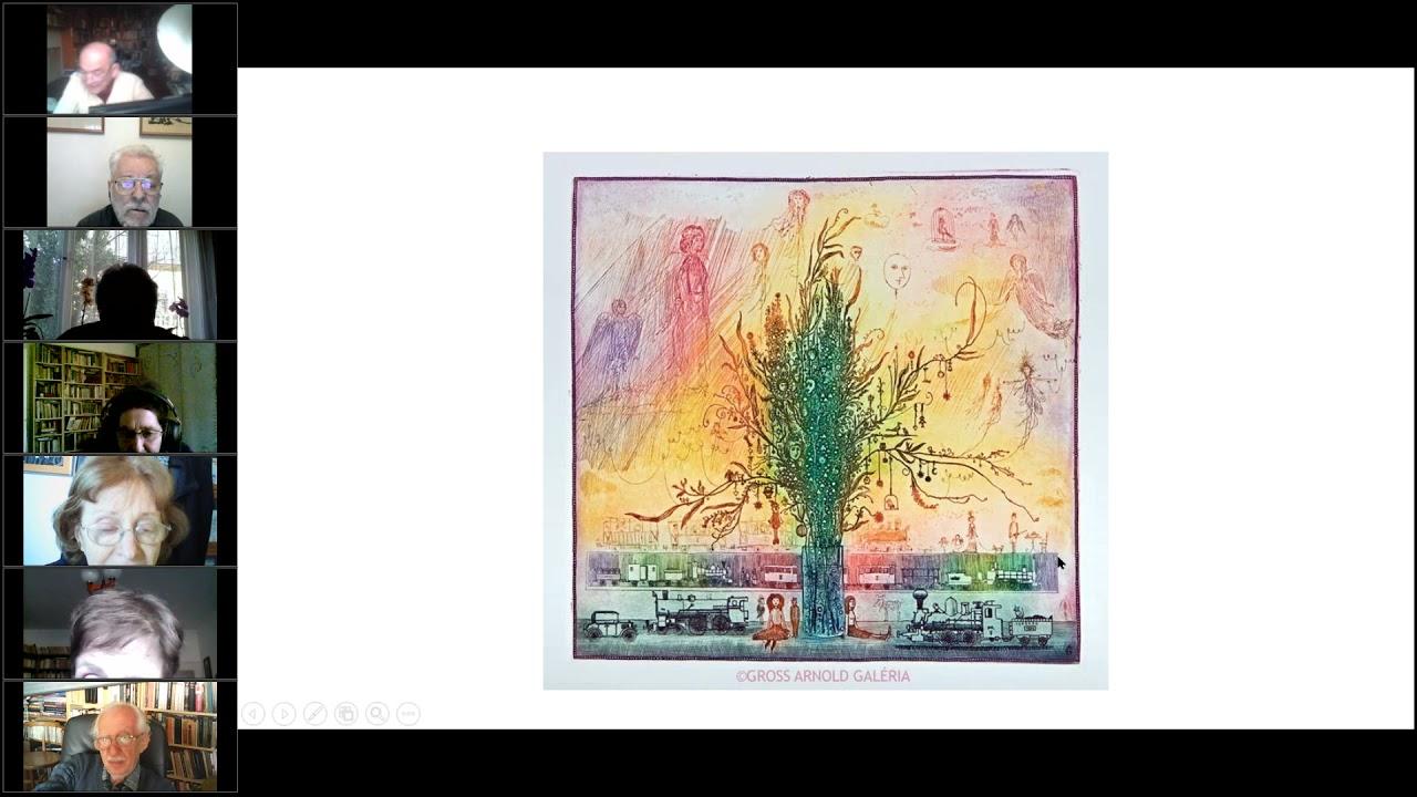 A 60-as évek művészete - Gross Arnold- Az online előadás sorozat 24. előadása