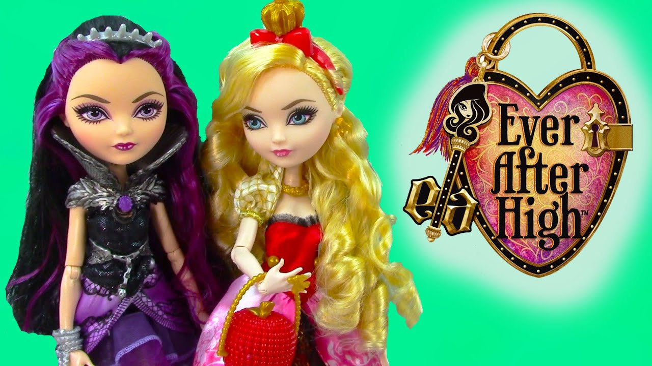 Ever After High Raven Queen Apple White Fairytale Dolls ...