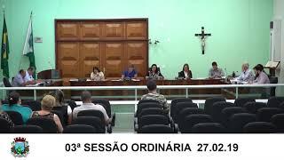 Sessão da Câmara   27.02.19