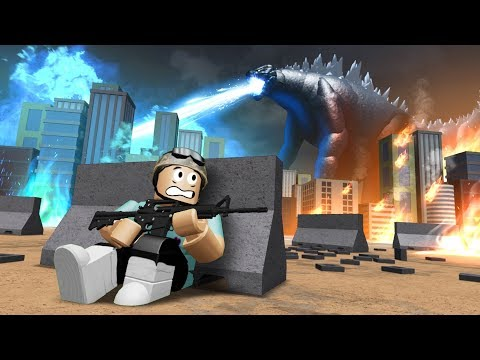 Defeat GODZILLA for 250,000 ROBUX!