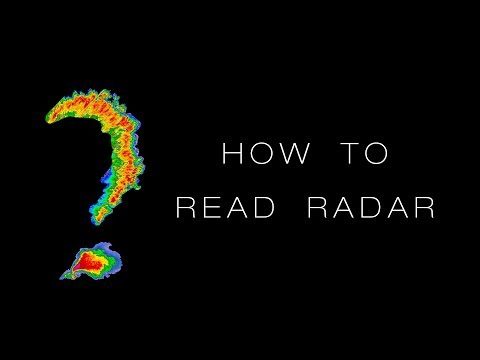 How To Read Weather Radar