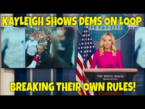 BOOM! Kayleigh McEnany Plays Democrats on Loop Breaking their own Rules on Covid Restrictions