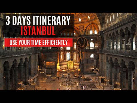 WHAT TO DO IN ISTANBUL IN 3 DAYS