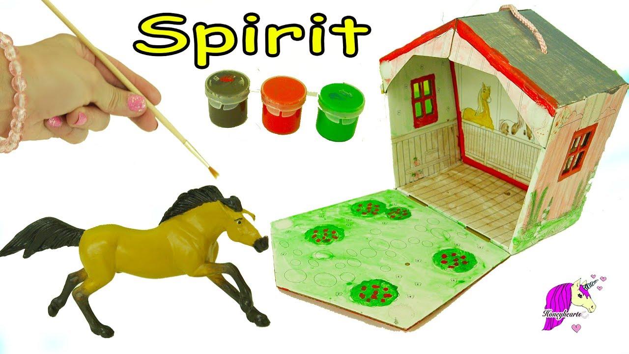 Diy spirit riding free stablemates stallion barn painting craft diy spirit riding free stablemates stallion barn painting craft set do it yourself video solutioingenieria Image collections