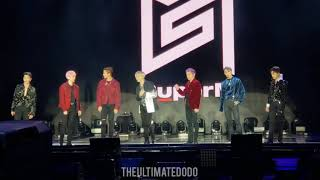 FANCAM 191005 SuperM Intro Ment @ 슈퍼엠 Debut Showcase Capitol Records Hollywood Live Concert