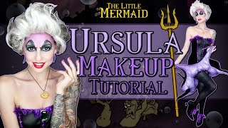 Halloween Makeup Tutorial: Ursula - The Little Mermaid