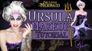 Halloween Makeup Tutorial: Ursula - The Little Mermaid