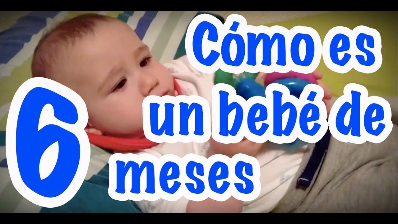 C mo es un beb de 6 meses desarrollo de v ctor youtube - Bebe de 6 meses ...