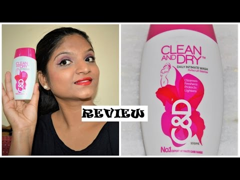 REVIEW :- CLEAN & DRY (C&D) DAILY INTIMATE WASH // C&D PRODUCT FOR WOMEN// REVIEW