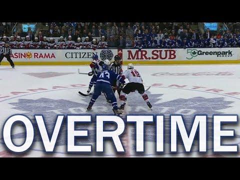 (Full Overtime) New Jersey Devils vs Toronto Maple Leafs - 11/16/17