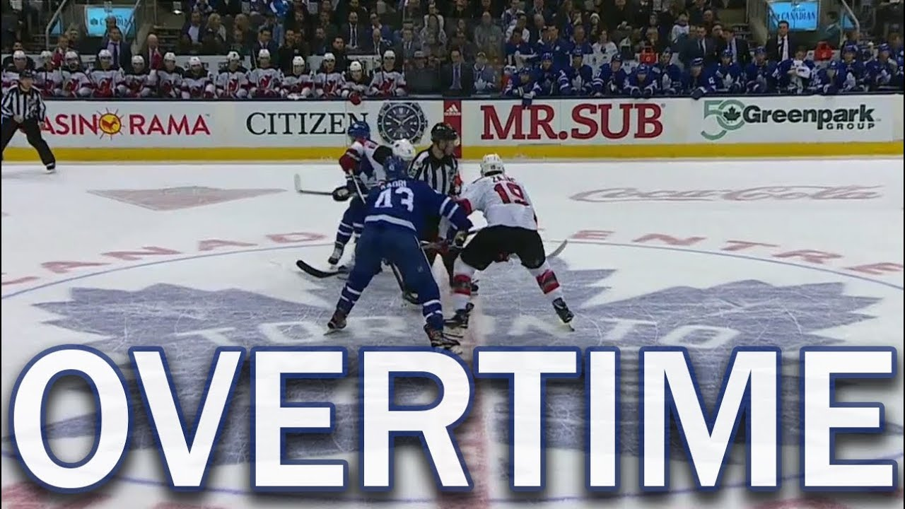 Full Overtime) New Jersey Devils vs Toronto Maple Leafs - 11 16 17 ... 038ef918a