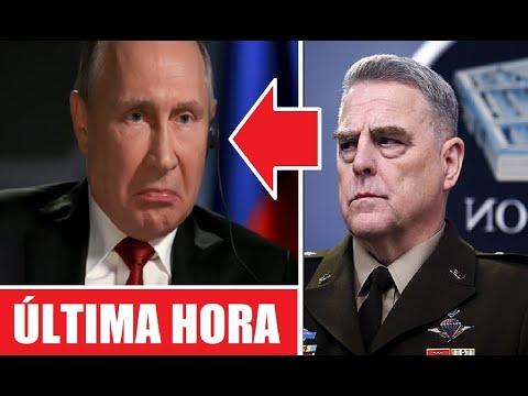 Inesperada Amenaza De Vladimir Putin Al Presidente De Estados Unidos Joe Biden Enfada A Generales.