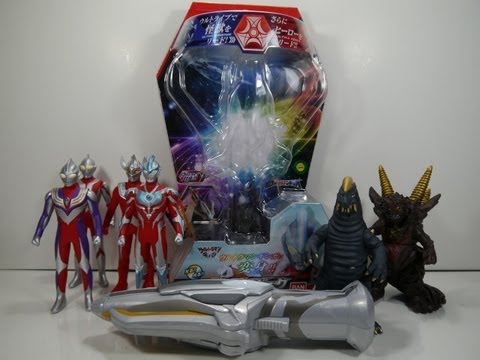 Review: DX Ginga Spark (Ultraman Ginga) Travel Video
