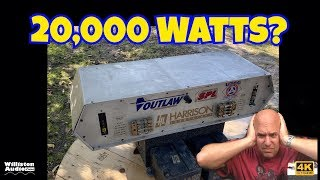20,000 watt Amp Banned from Competitions? 2000 Harrison Labs Drag Queen [4K]