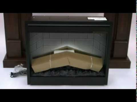 Removable gas fireplace inserts