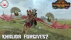 KHALIDA FORGIVES? - Total War Warhammer 2 - Online Battle 483