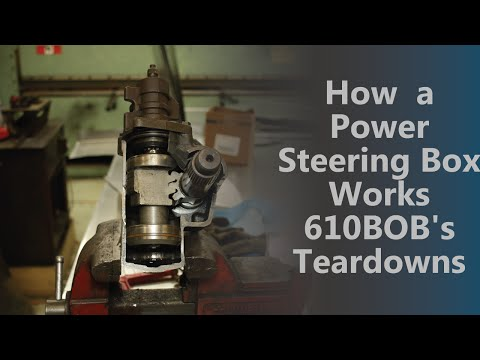 How a Power Steering Box Works 610BOB