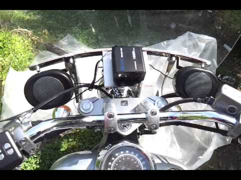 Shark Shkr3080a Black 250 Watt Motorcycle Audio W Fm Receiver
