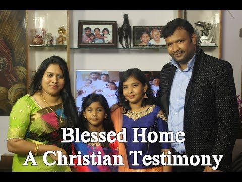 A Christian Telugu Testimony of Mahesh Paul & Hephzibah Jyothi shooted for Calvary TV channel