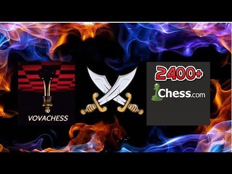 Матч до 100 побед на Chess.com против 2400+ Стрим №6  30.08.2019